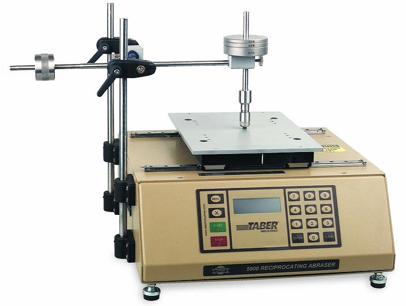Прибор Табера 5900. Абразиметр Taber 5900 для истирания возвратно-поступательными движениями