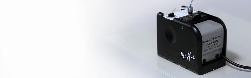 Портативный тензиометр PGX+<br>для определения краевого угла смачивания и энергии поверхности